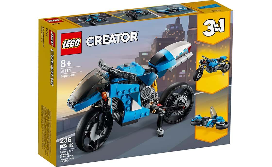 LEGO Creator Супермотоцикл (31114)