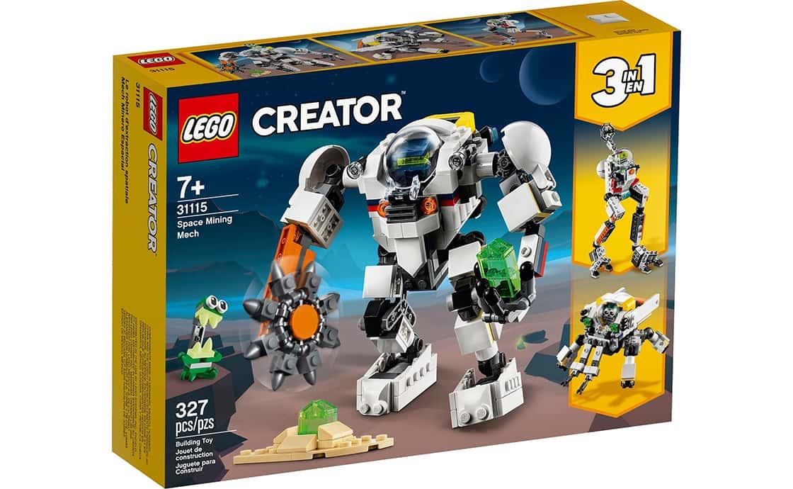 LEGO Creator Космічний видобувний робот (31115)