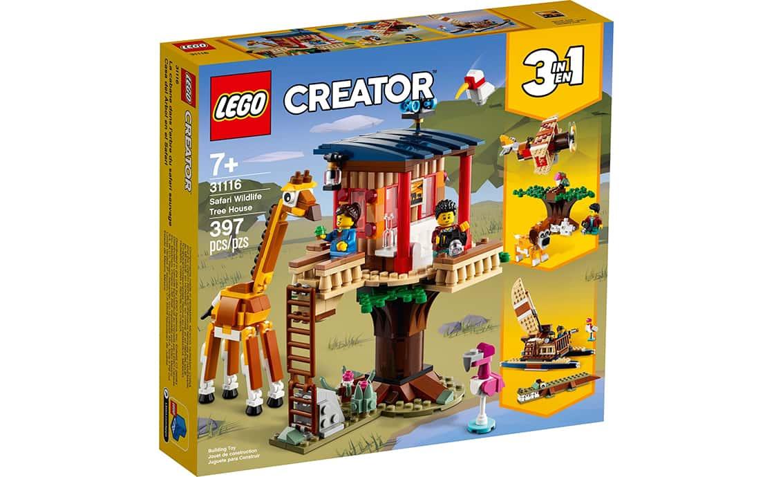 LEGO Creator Будиночок на дереві під час сафарі (31116)