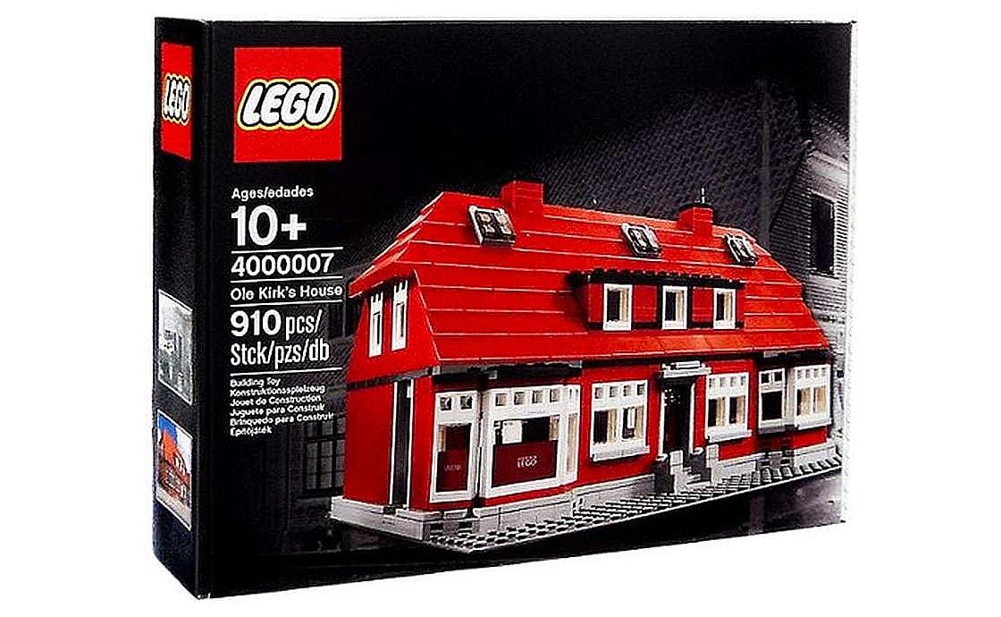 LEGO Exclusive Дом Оле Кирка Кристиансена (4000007)