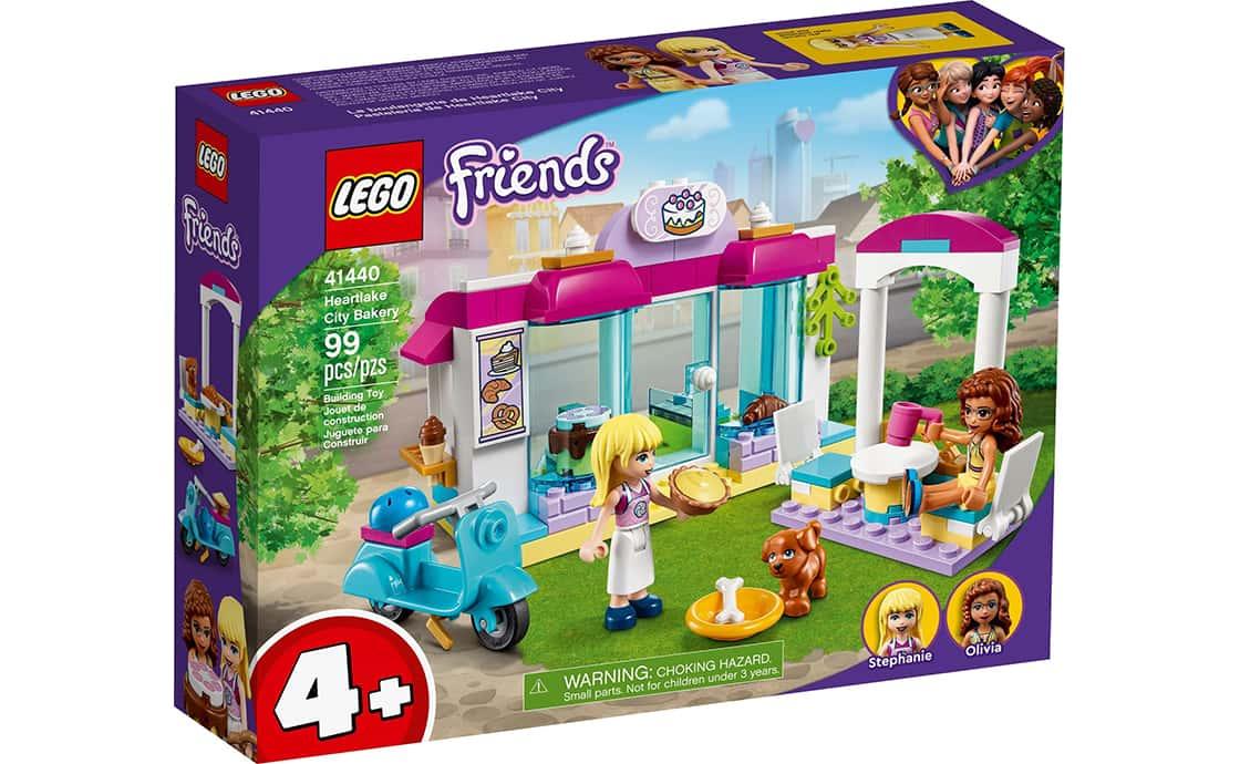 LEGO Friends Кондитерская в Хартлейк-Сити (41440)