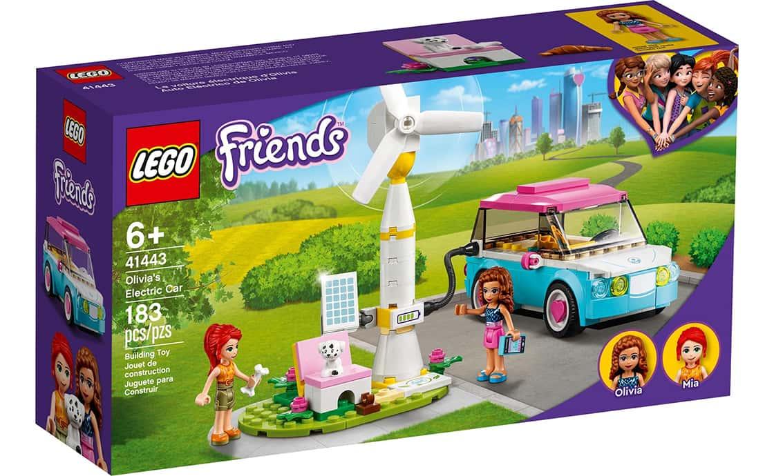 LEGO Friends Электромобиль Оливии (41443)