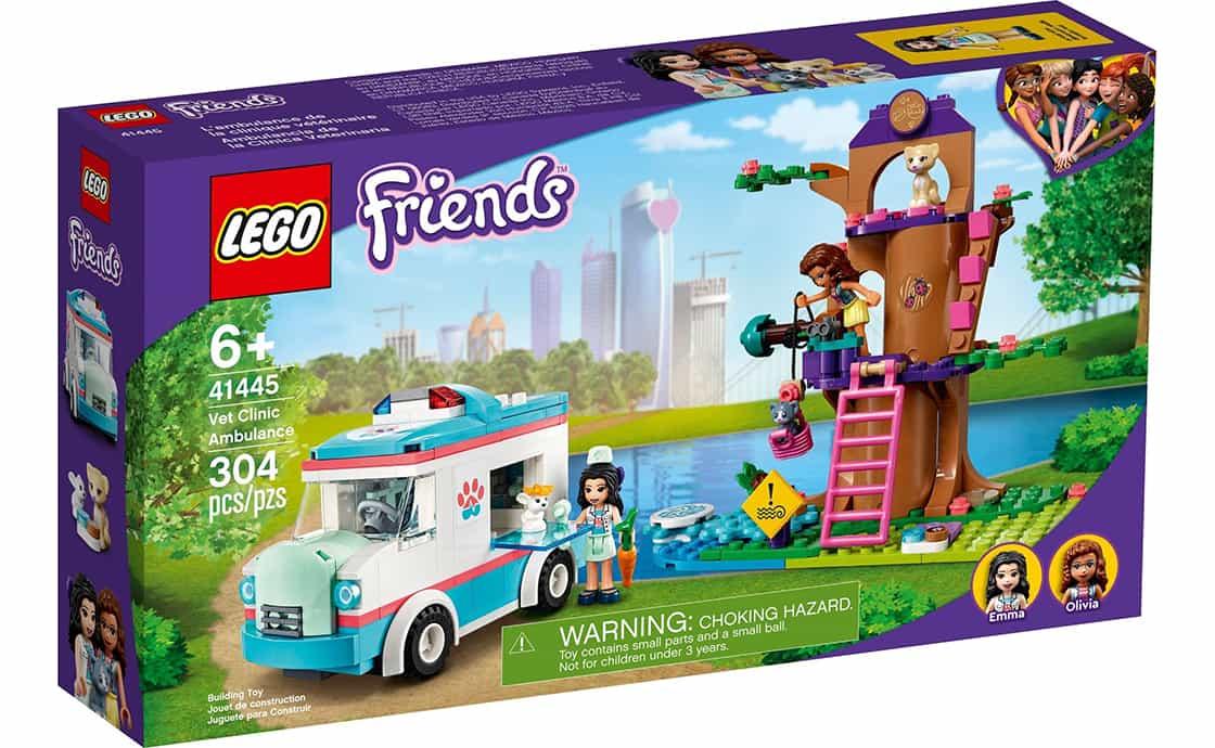 LEGO Friends Швидка ветклініки (41445)