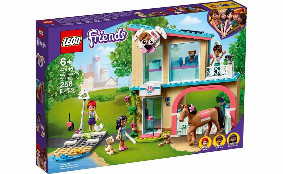 LEGO Friends Ветеринарна клініка в Хартлейк-Сіті (41446)