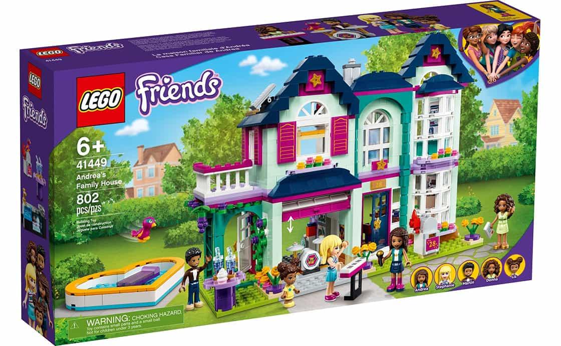 LEGO Friends Семейный дом Андреа (41449)