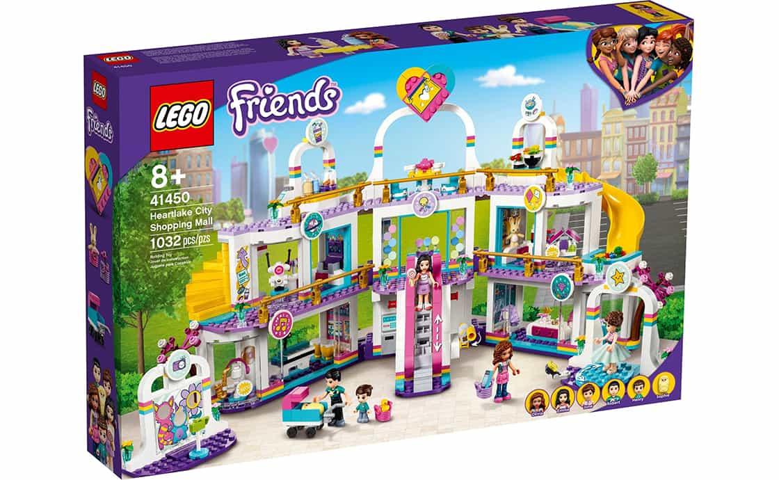 LEGO Friends Торговельний центр у Хартлейк-Сіті (41450)