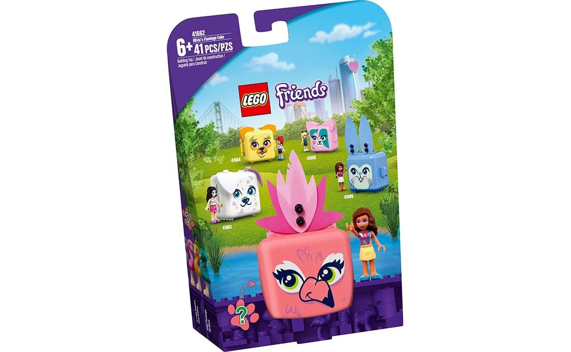 LEGO Friends Куб-фламинго с Оливией (41662)