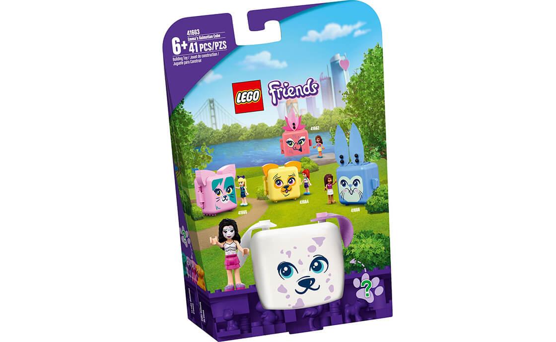 LEGO Friends Куб-далматинец с Эммой (41663)