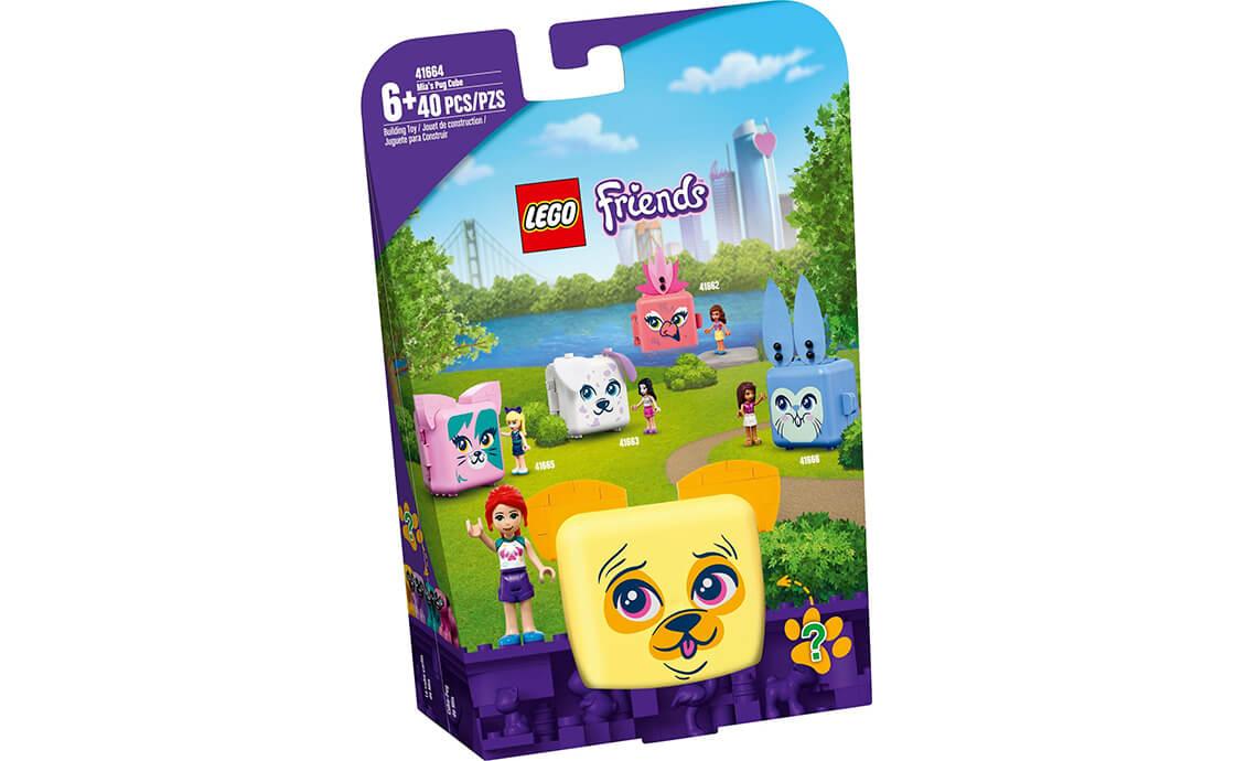 LEGO Friends Куб-мопс із Мією (41664)