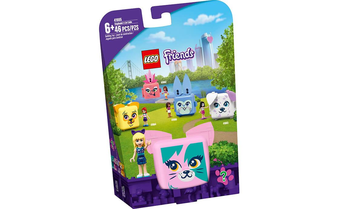 LEGO Friends Куб-кіт зі Стефані (41665)