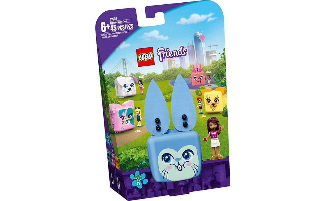 LEGO Friends Куб-кролик з Андреа (41666)