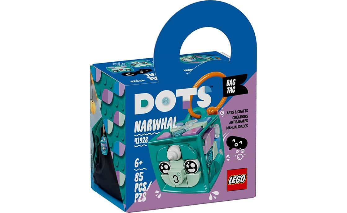 """LEGO DOTS Брелок для сумочки """"Нарвал"""" (41928)"""