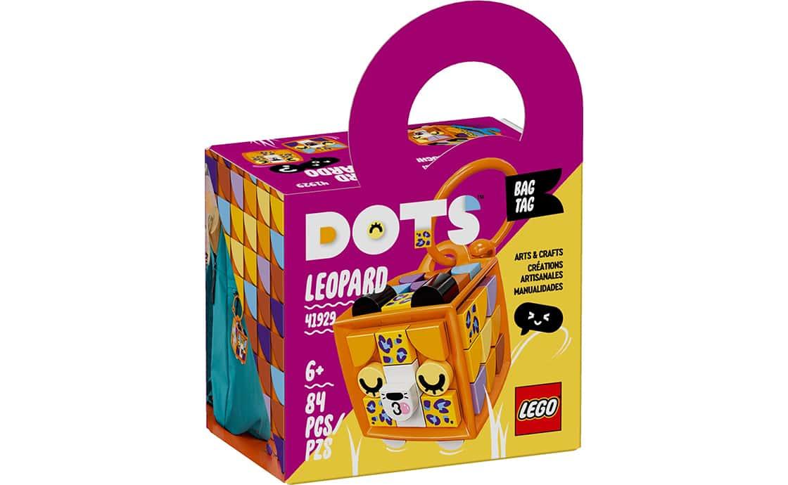 """LEGO DOTS Брелок для сумочки """"Леопард"""" (41929)"""