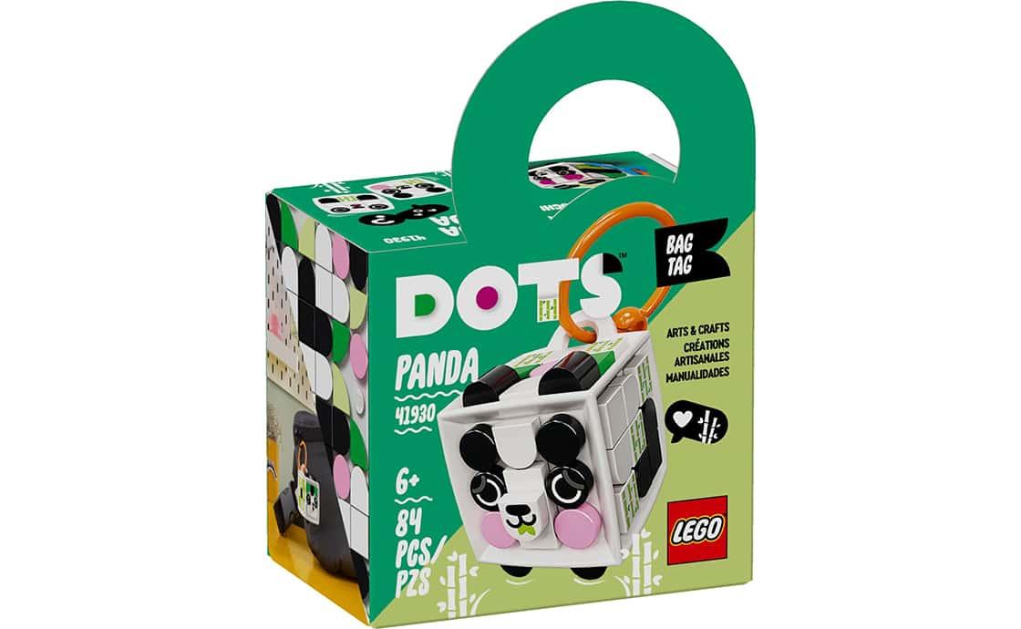 "LEGO DOTS Брелок для сумочки ""Панда"" (41930)"