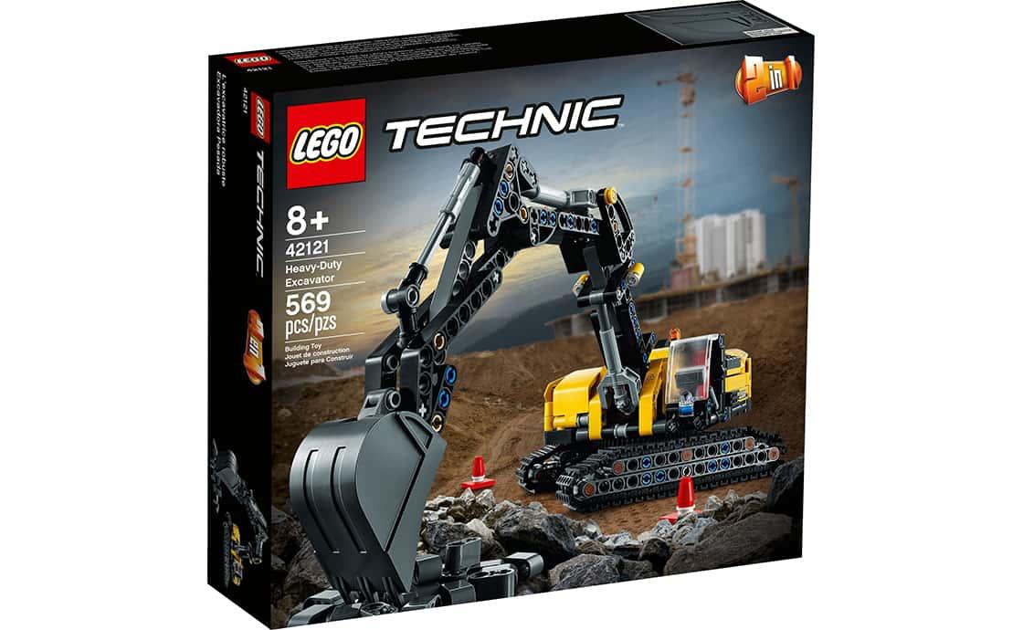 LEGO Technic Сверхмощный экскаватор (42121)