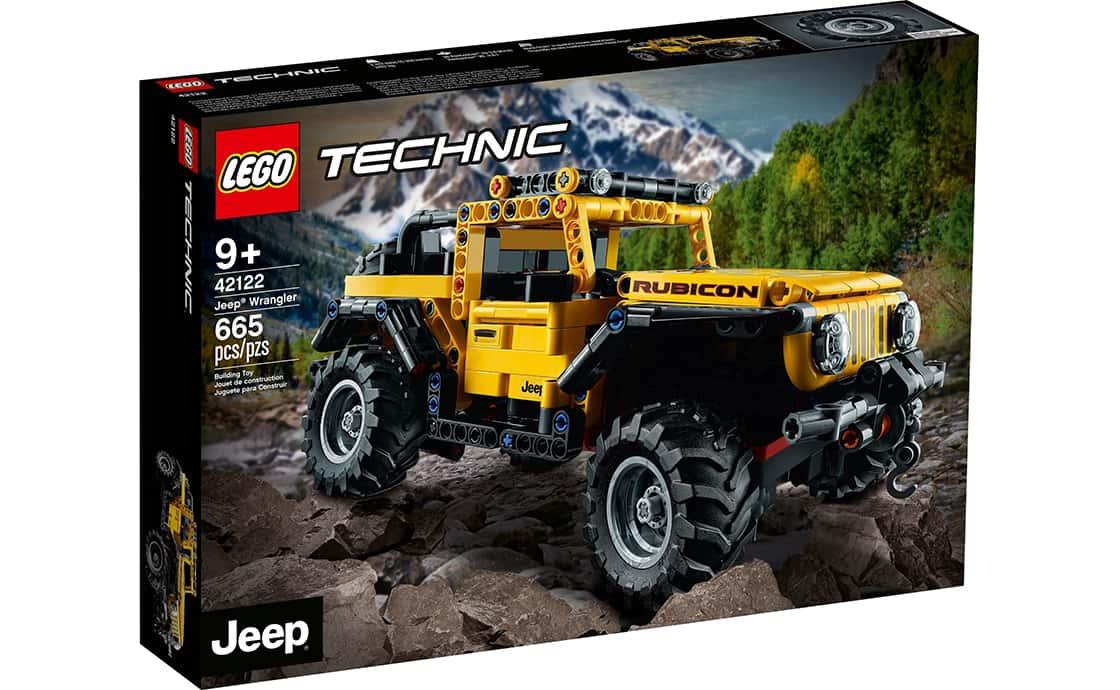 LEGO Technic Jeep Wrangler (42122)