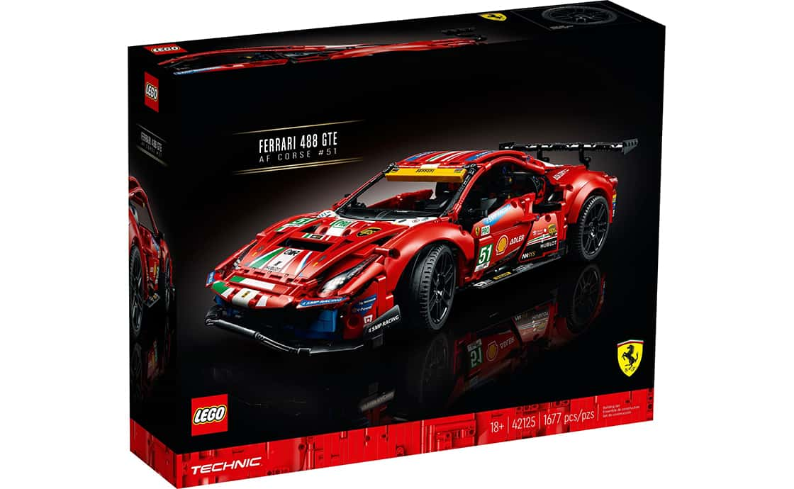 "LEGO Technic Ferrari 488 GTE ""AF Corse #51"" (42125)"