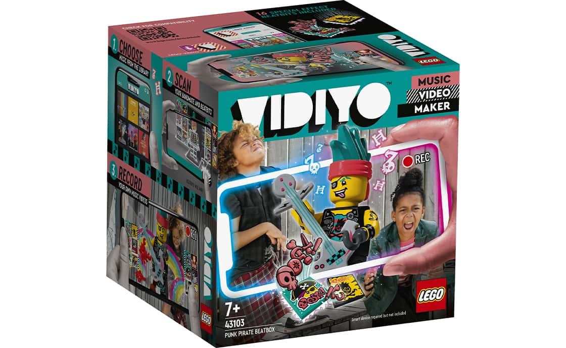 LEGO VIDIYO Битбокс Пирата Панка (43103)
