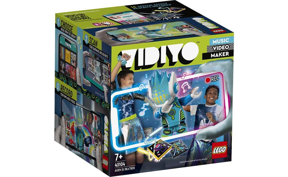 LEGO VIDIYO Бітбокс Діджея Прибульця (43104)