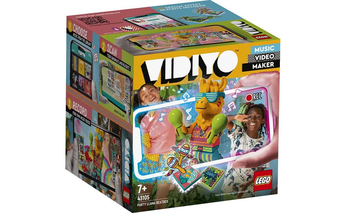 LEGO VIDIYO Бітбокс Любителя вечірок Л.Л.А.М.А (43105)