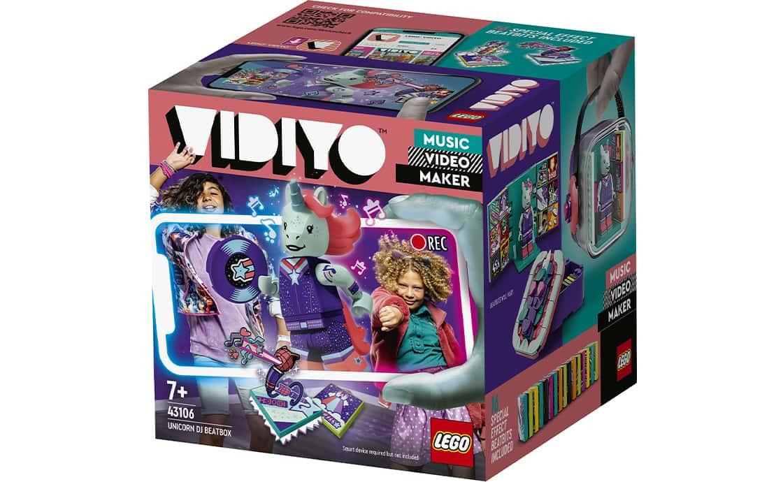 LEGO VIDIYO Бітбокс Діджея Єдинорога (43106)