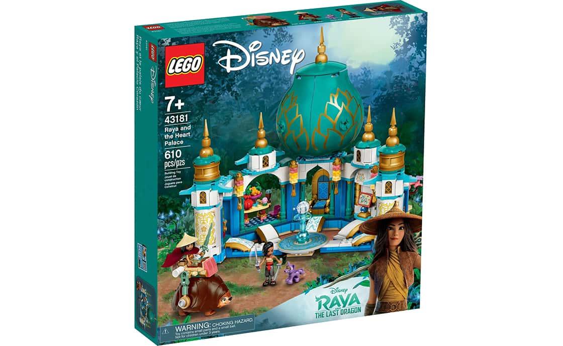 LEGO Disney Princess Райя і палац серця (43181)