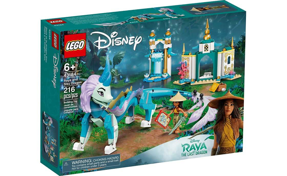 LEGO Disney Princess Райя і дракон Сісу (43184)