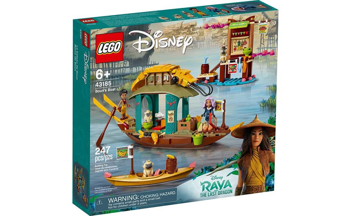 LEGO Disney Princess Лодка Буна (43185)