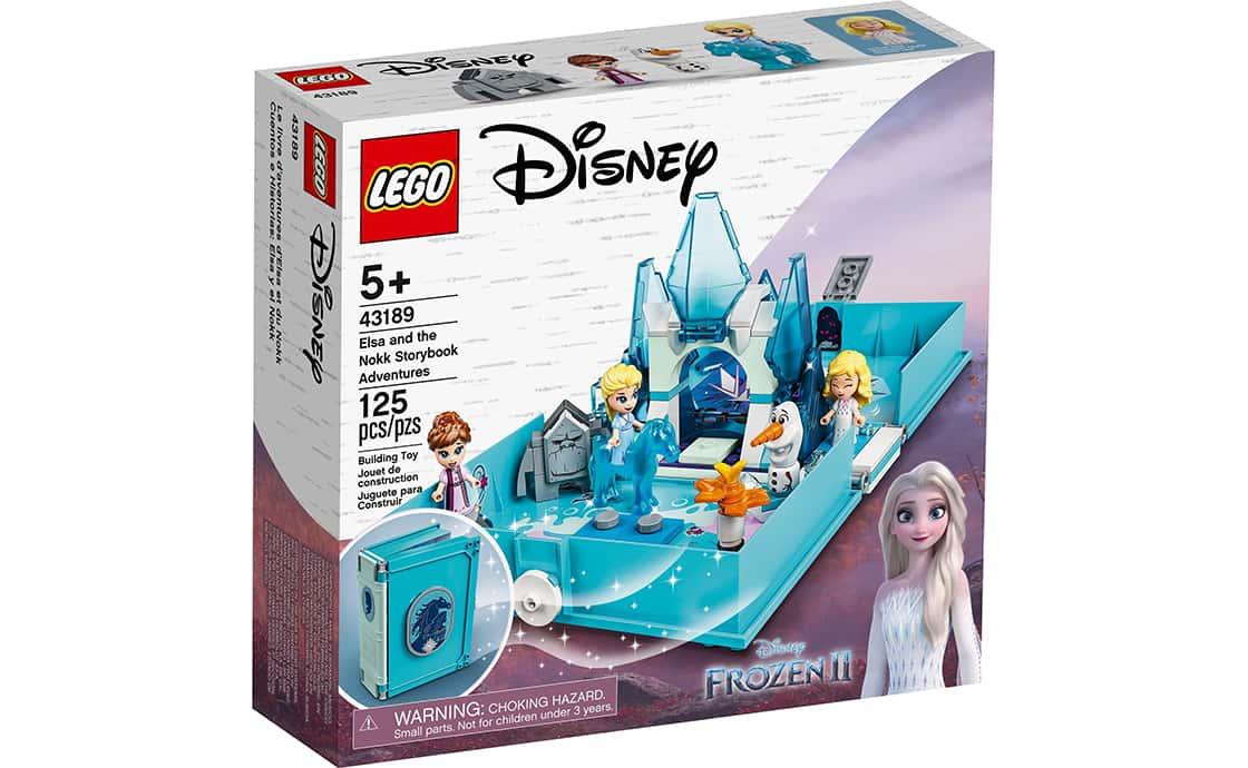 LEGO Disney Princess Книга пригод Ельзи й Нокк (43189)