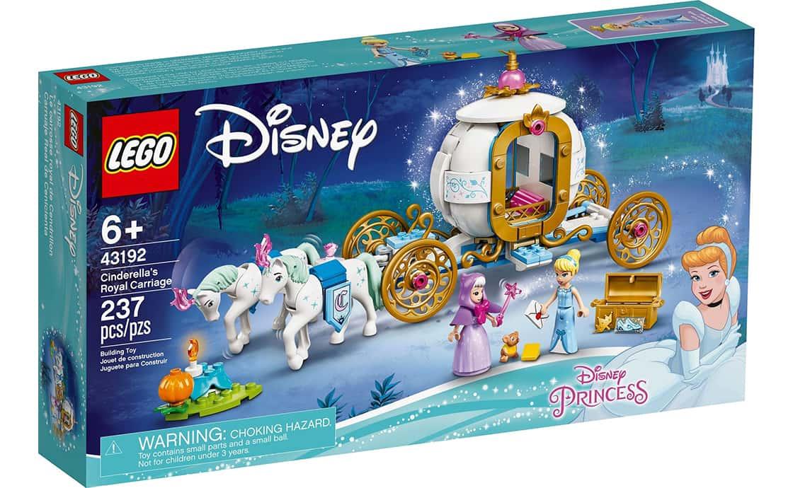 LEGO Disney Princess Королівська карета Попелюшки (43192)