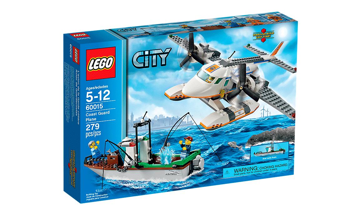 LEGO City Самолет береговой охраны (60015)