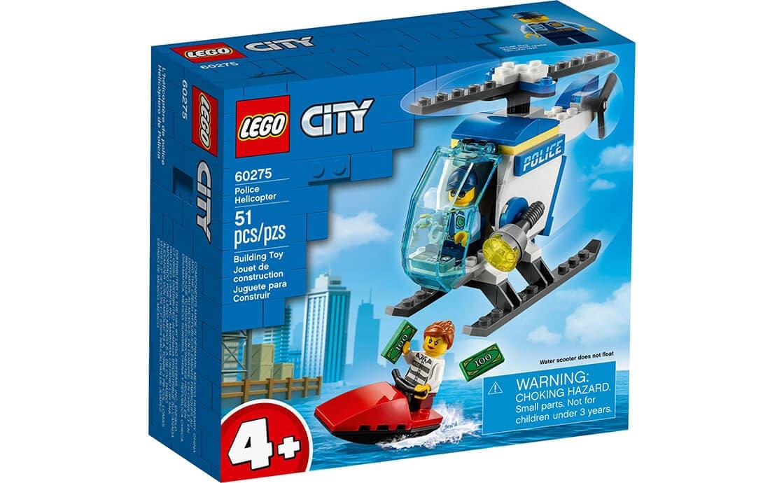 LEGO City Полицейский вертолет (60275)