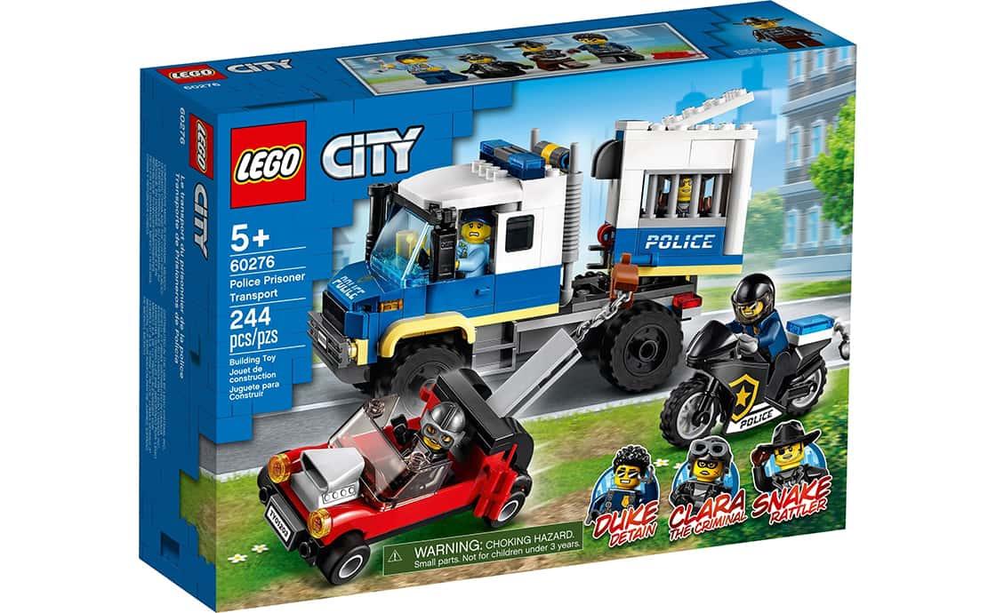 LEGO City Поліцейська машина для перевезення в'язнів (60276)