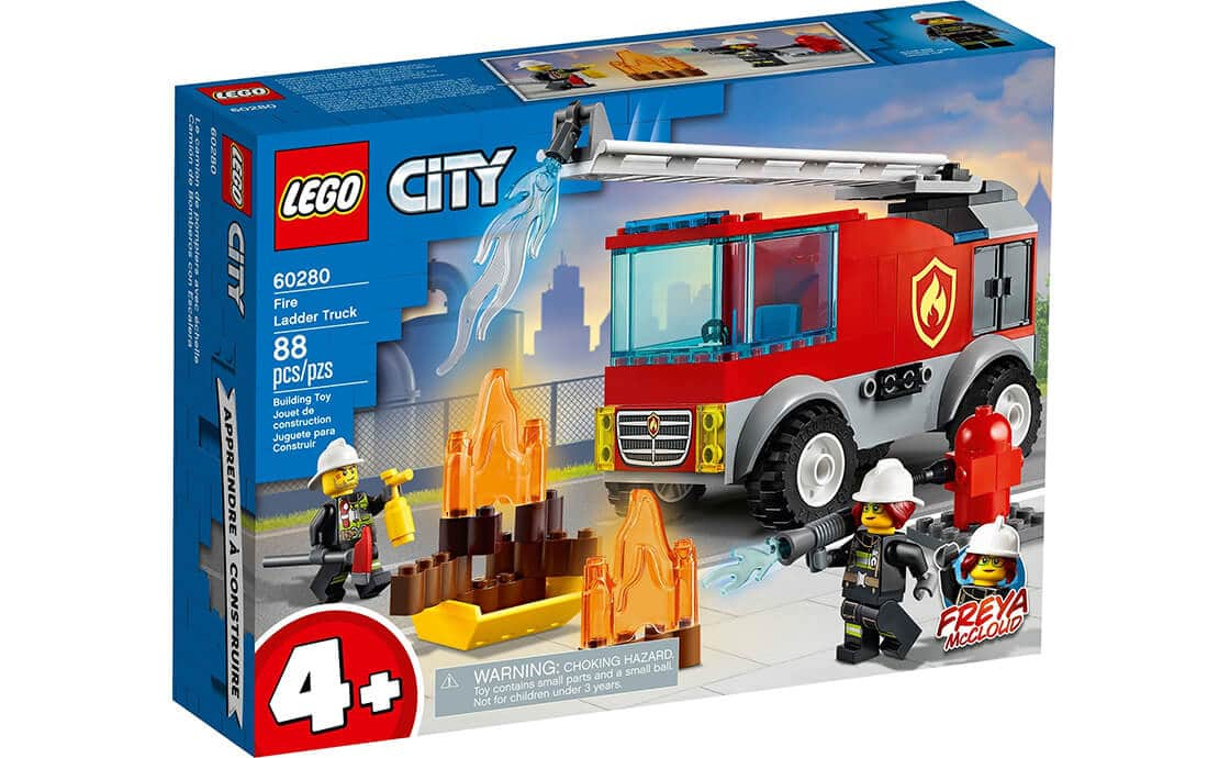 LEGO City Пожежна машина з драбиною (60280)