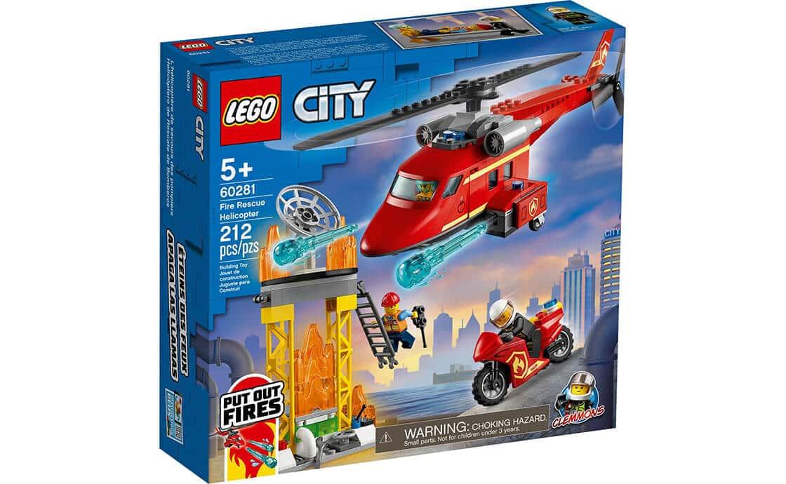 LEGO City Пожежний рятувальний гелікоптер (60281)