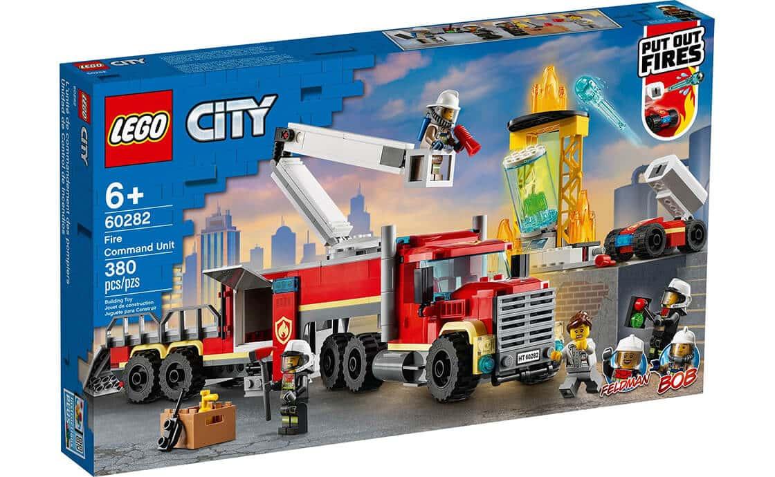 LEGO City Пожарный командный пункт (60282)