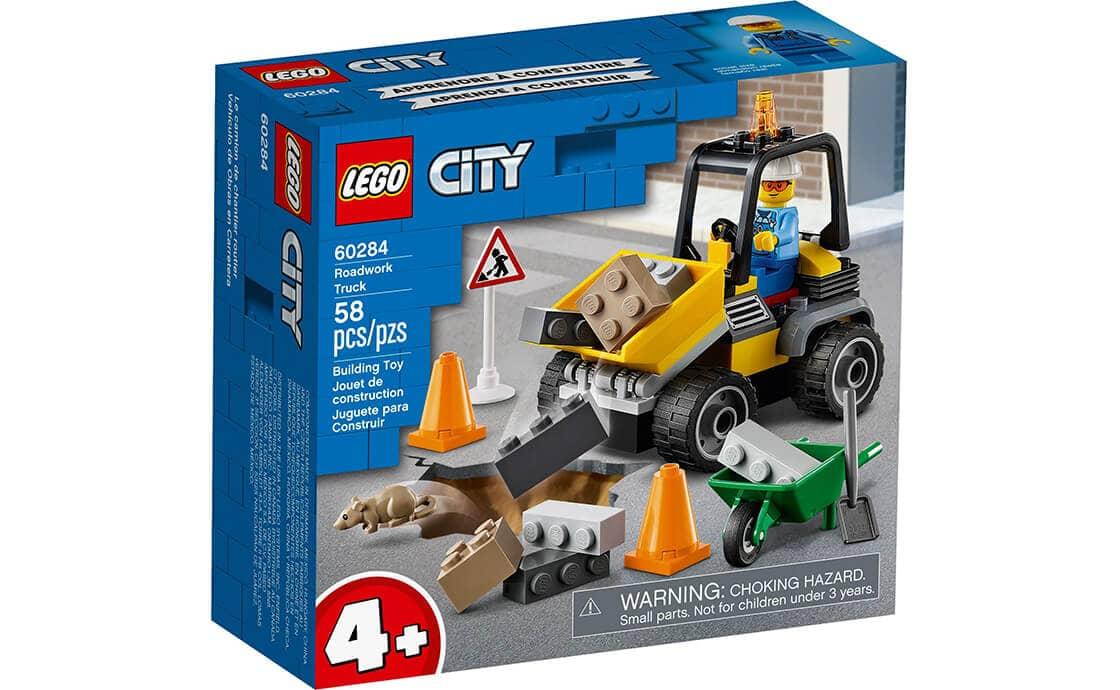 LEGO City Пикап для дорожных работ (60284)