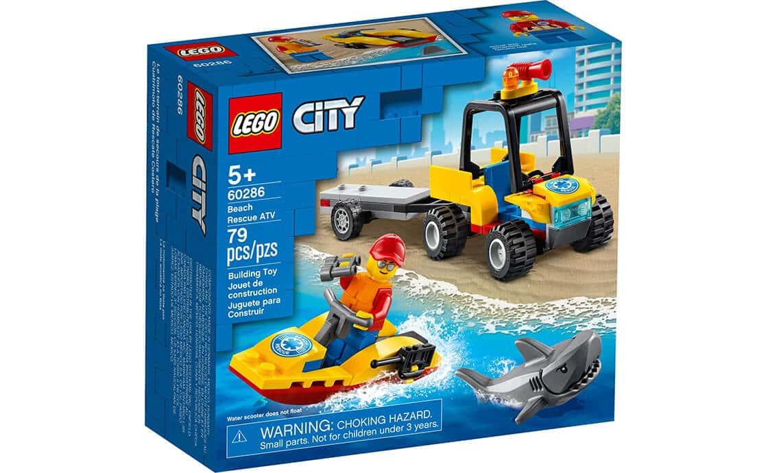 LEGO City Вездеход пляжных спасателей (60286)