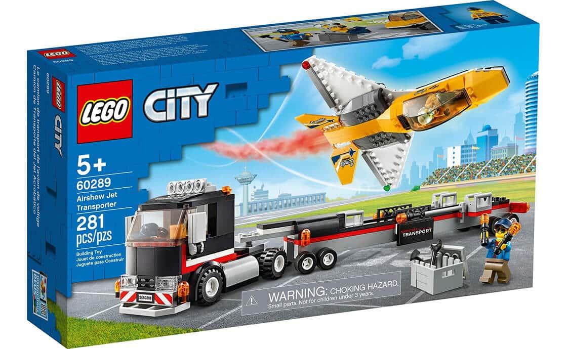 LEGO City Транспортер каскадерського літака (60289)