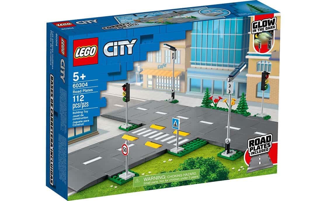 LEGO City Дорожные плиты (60304)