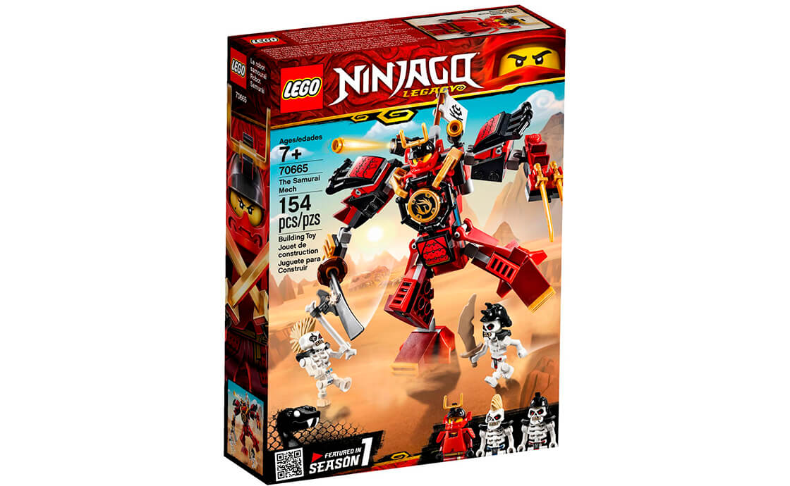 LEGO NINJAGO Робот Самурай (70665)
