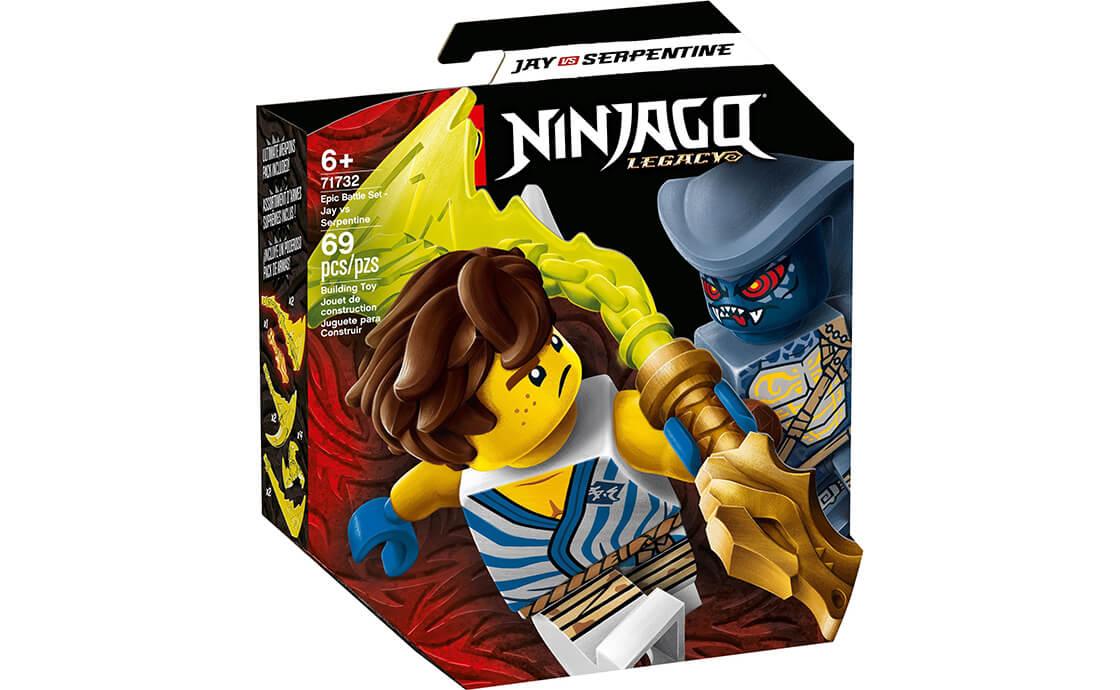 LEGO NINJAGO Грандиозный бой: Джей против Змееподобного (71732)