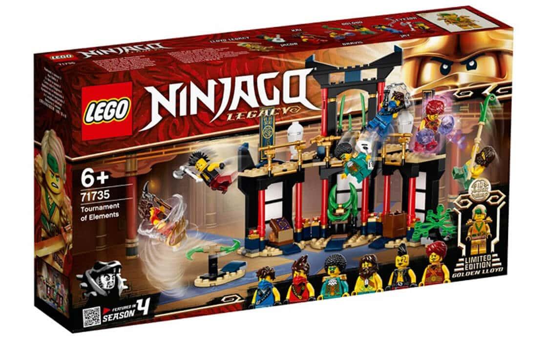 LEGO NINJAGO Турнір стихій (71735)