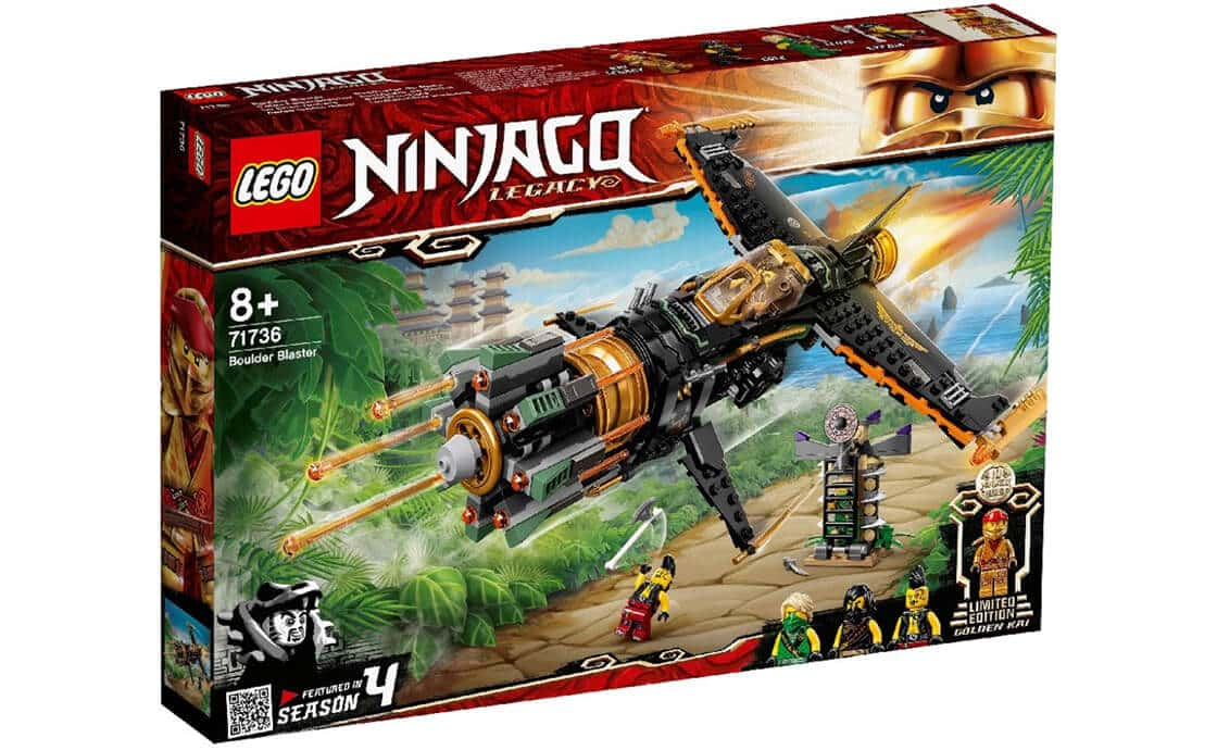 LEGO NINJAGO Камнелом (71736)