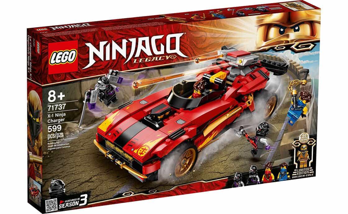 LEGO NINJAGO Преследователь ниндзя Х-1 (71737)