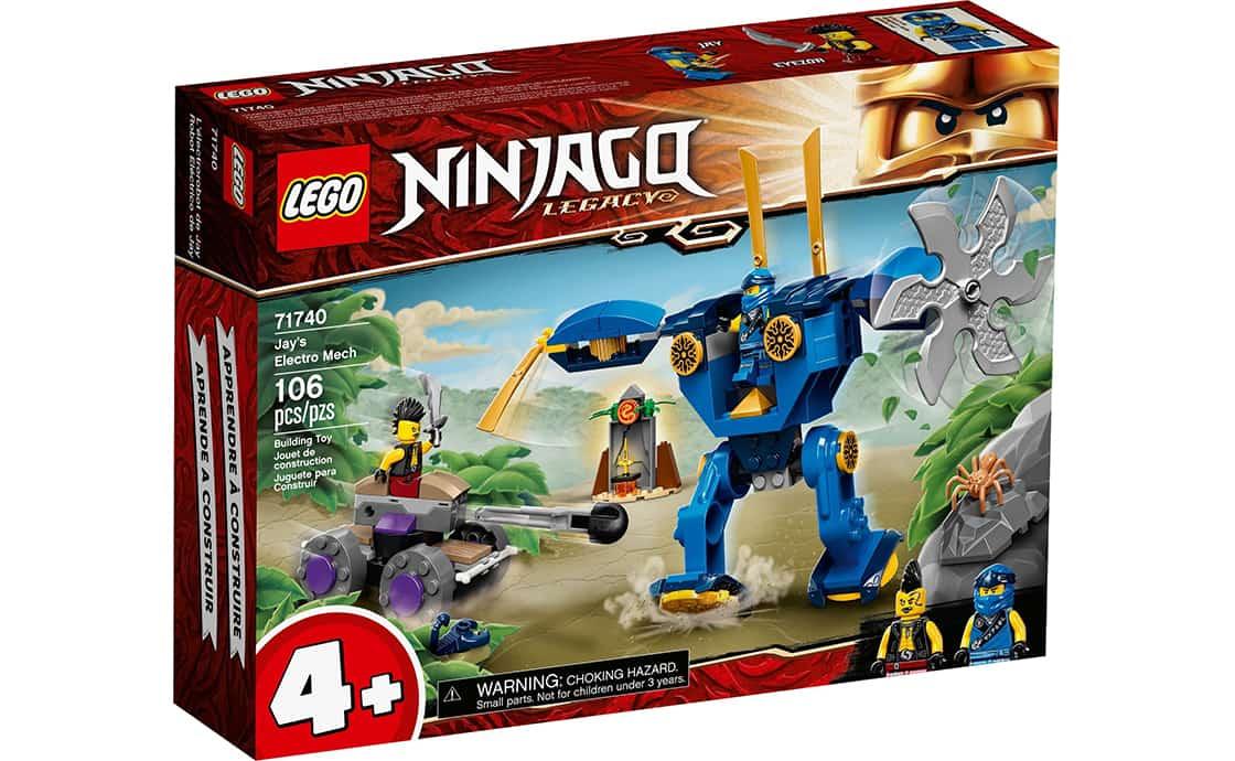 LEGO NINJAGO Электрический робот Джея (71740)
