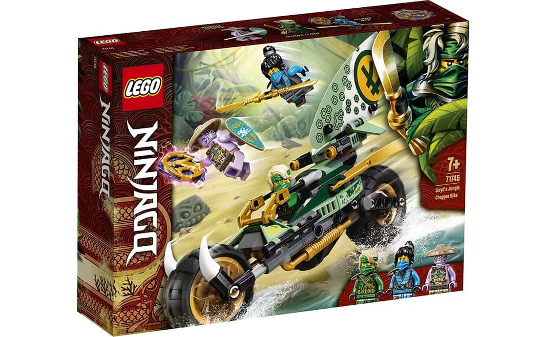 LEGO NINJAGO Мотоцикл для джунглів Ллойда (71745)