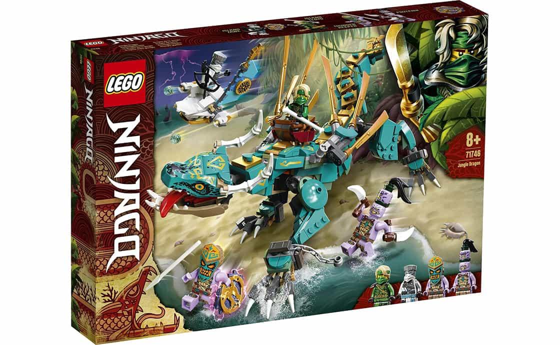 LEGO NINJAGO Дракон джунглей (71746)
