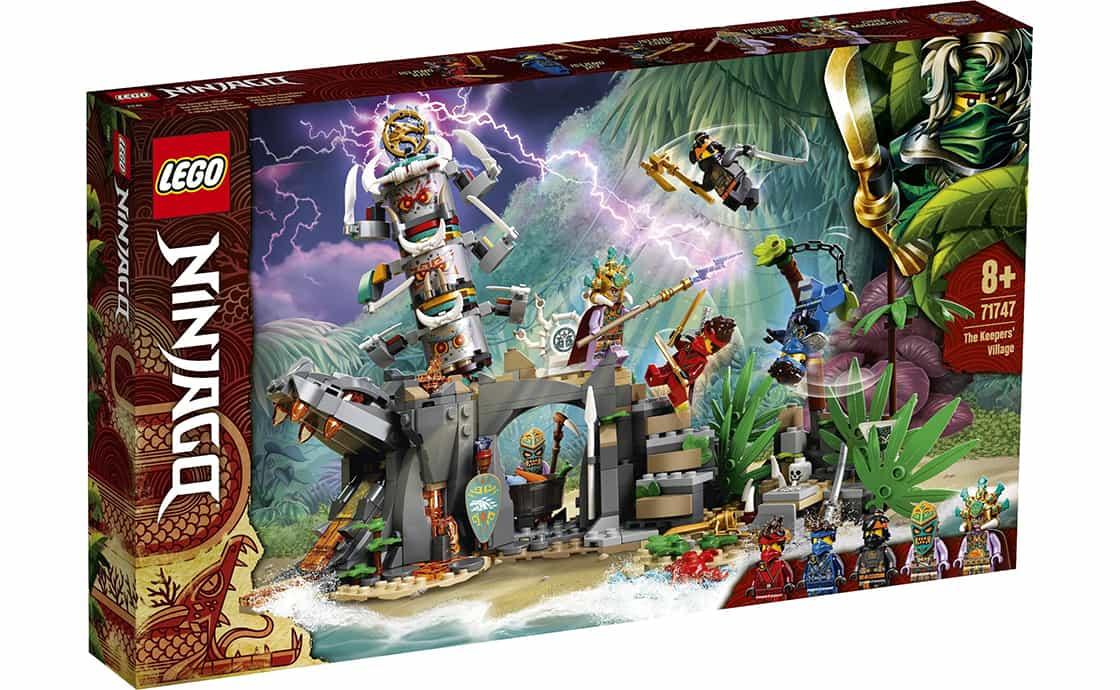 LEGO NINJAGO Деревня хранителей (71747)