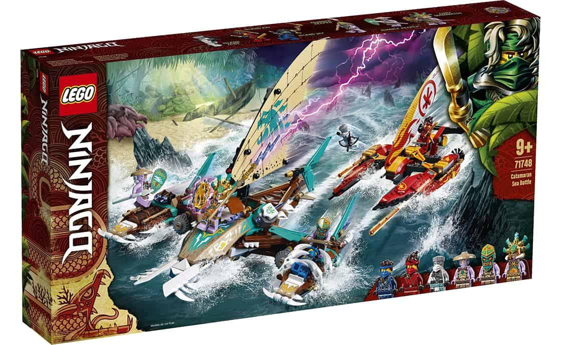 LEGO NINJAGO Морський бій на катамаранах (71748)